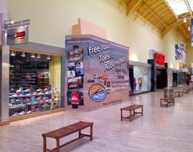 Flip Flop Shops Wall