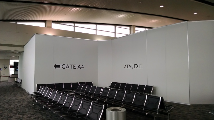 Dtw Airport Food Court Envy Modular Wall Systems Inc